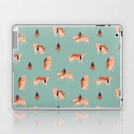 Tigers and girls Laptop & iPad Skin