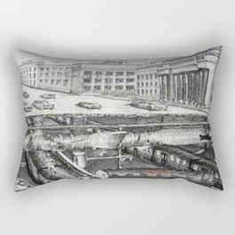 What's Below Union Station Rectangular Pillow