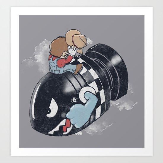 Love The Bomb Art Print
