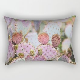 Cotton Candy Cacti Rectangular Pillow