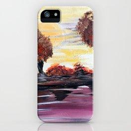 Autumn Sundown iPhone Case