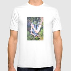 Cold Feelings Mens Fitted Tee White MEDIUM