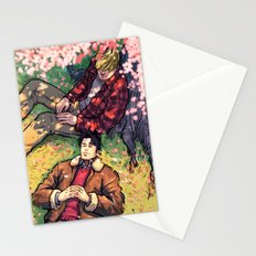William and Theodore 20 Stationery Cards