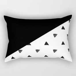 Triangle and triangles Rectangular Pillow