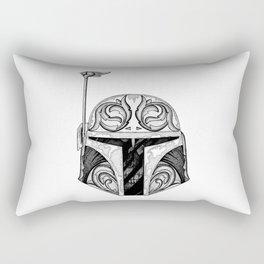 baba fett decor Rectangular Pillow