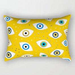 Nazar Eye Amulet pattern #4 Rectangular Pillow