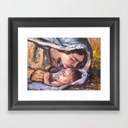 Natividad Framed Art Print