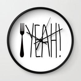 Fork Yeah! Wall Clock