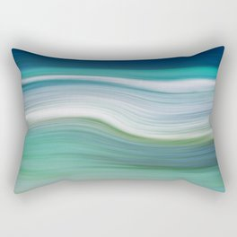 OCEAN ABSTRACT Rectangular Pillow
