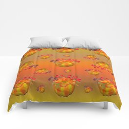 Fall Floral Squash Comforters