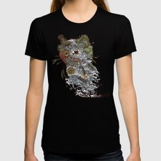 Colors to Nature. Black SMALL Womens Fitted Tee