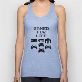 Gamer For Life Unisex Tank Top