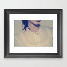 BLOUSE Framed Art Print