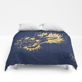 Drunken Dragon - Color Comforters