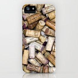 Fine Wine Corks Square iPhone Case