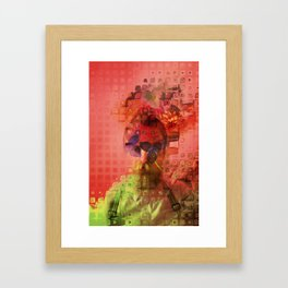 Destructuring Framed Art Print