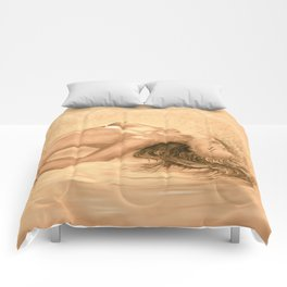 nude dreams of passion Comforters