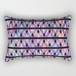 Geometric Glossy Pattern G330 Rectangular Pillow