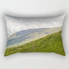 Umbrian hills Italy Rectangular Pillow