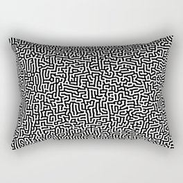 Turing Pattern Rectangular Pillow