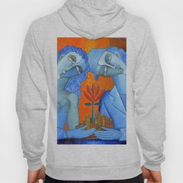 Blue Lovers Hoody