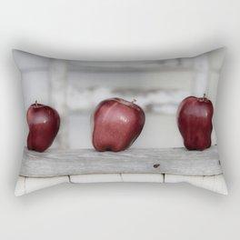 Country Apple Farm Style Rectangular Pillow