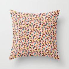 BP 68 Abstract Pebbles Throw Pillow