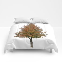 pear tree on white Comforters
