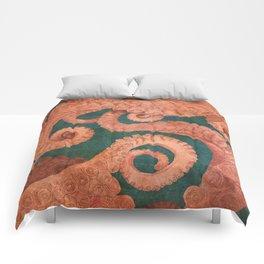 Octopus 1 Comforters