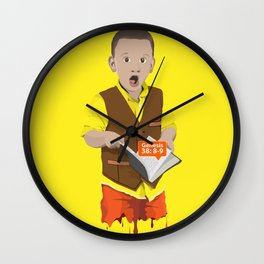 Thought Provoking Kid Wall Clock