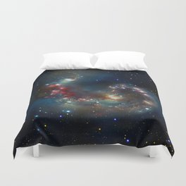 Galactic Spectacle Duvet Cover