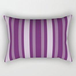 Purple Victorian Lady Stripe Rectangular Pillow