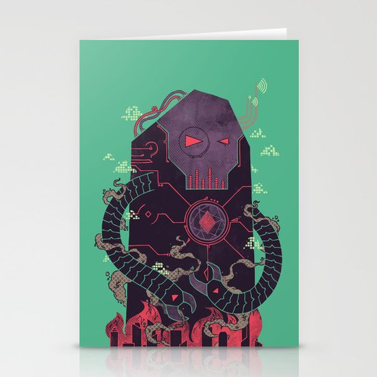 Operate, Annihilate Stationery Cards