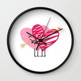 Love & Friendship Wall Clock