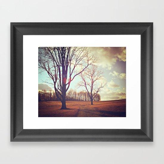Warmth of Winter  Framed Art Print