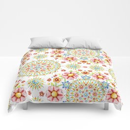 Flower Crown Bijoux Comforters