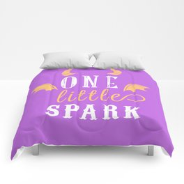 One Little Spark Comforters
