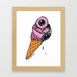 Eyescream Framed Art Print