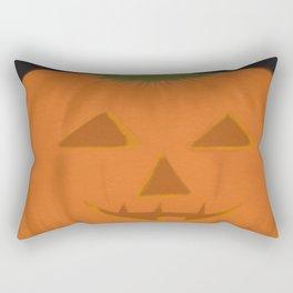 The Textured Pumpkin Rectangular Pillow