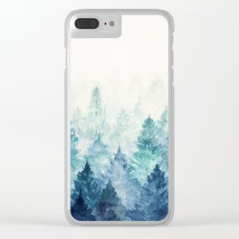 Fade Away Clear iPhone Case