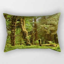 Hoh Rainforest Rectangular Pillow