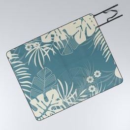 Tropical pattern 047 Picnic Blanket