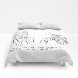 Friends quote Comforters