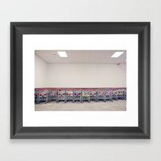 Queenstown Airport Framed Art Print
