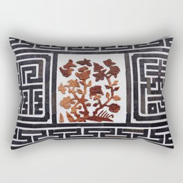 Korean brick wall Rectangular Pillow