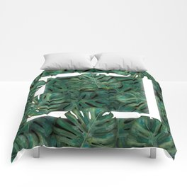 Square Between the Leaves Comforters