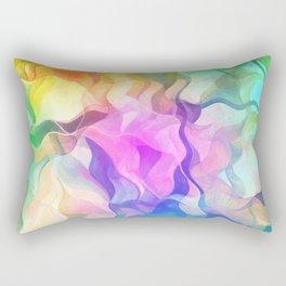 Multicolored abstract no. 37 Rectangular Pillow