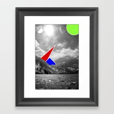 Strange Animals Framed Art Print