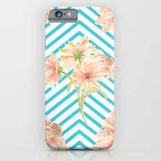 Flowers and Stripes Slim Case iPhone 6s