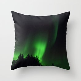 The Northern Lights 04 Throw Pillow